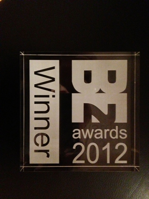 2012 BE2 Award for Best Sustainability or Built Environment Blog